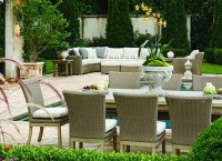 Outdoor Poolside Patio Set